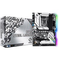 ASRock H470 Steel Legend ATX Motherboard for Intel LGA1200 CPUs
