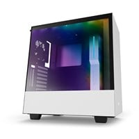 NZXT H500i Mid Tower Gaming Case - White USB 3.0
