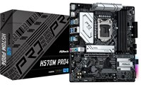 ASRock H570M Pro4 Intel Socket 1200 H570 Chipset MicroATX Motherboard *Open Box*