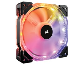 Corsair HD120 RGB Individually Addressable LED Static Pressure 120mm Fan with Controller
