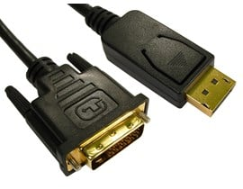 (5m) DisplayPort to DVI-D Cable (Black)