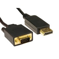 (3m) DisplayPort to VGA Cable (Black)