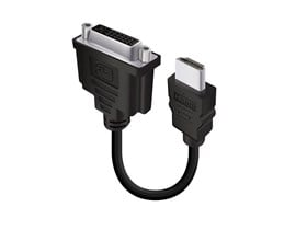 ALOGIC 15cm Male HDMI to Female DVI-D Adapter