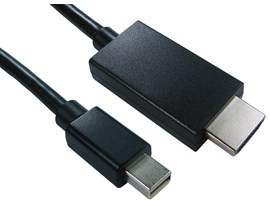 (3m) Mini DisplayPort to HDMI Cable (Black)