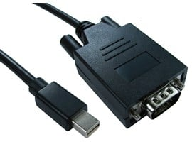 (3m) Mini DisplayPort to VGA Cable (Black)
