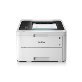 Brother HL-L3230CDW (A4) Colour LED Wireless Printer 256MB 1 Line LCD 18ppm