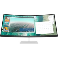 HP E344c 34 inch LED Curved Monitor - 3440 x 1440, 4ms, HDMI