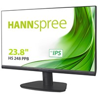 Hannspree HS248PPB 23.8 inch LED Monitor - Full HD, 5ms, Speakers