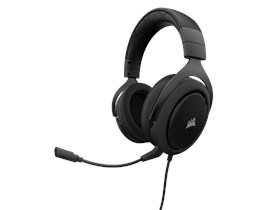 Corsair HS50 Stereo Gaming Headset with Microphone (Carbon) (EU)
