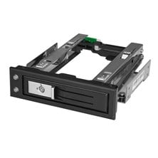 StarTech.com 5.25 To 3.5 Hard Drive Hot Swap Bay For 3.5inch SATA/SAS drives - Trayless
