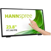 Hannspree HT248PPB 23.8 inch LED - Full HD, 8ms, Speakers, HDMI