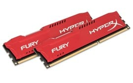 HyperX FURY Red 16GB (2x 8GB) 1866MHz DDR3 RAM