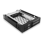 "ICY BOX IB-2227StS Mobile Rack for 2x 2.5"" SATA HDD or SSD"