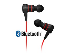 ICY BOX BigCityVibes Bluetooth Stereo Earphones Red
