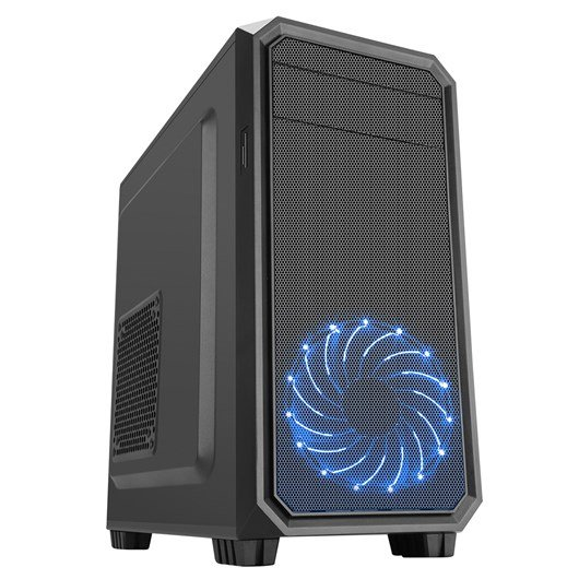CiT Illusion Mid Tower Case - Black