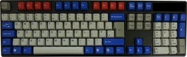 Tai-Hao ABS DoubleShot Keycaps - Optimus Prime - UK and US Layout