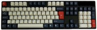 Tai-Hao ABS DoubleShot Keycaps - Navy Blue - UK and US Layout