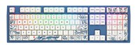 Ducky Year of the Dog Special Edition USB Mechanical Keyboard with Cherry MX Blue Switches, RGB Illumination (UK Layout)