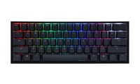 Ducky One2 Mini RGB Backlit USB Mechanical Keyboard with Cherry MX Speed Silver Switches (UK)