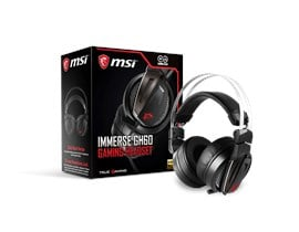 MSI Immerse GH60-USB Gaming Headset (Black)