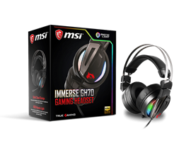 MSI Immerse GH70 RGB USB Gaming Headset