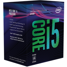 Intel Core i5 8400 2.8GHz Hexa Core (Socket 1151)