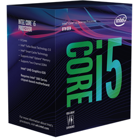 Intel Core i5 8400 2.8GHz Hexa Core CPU