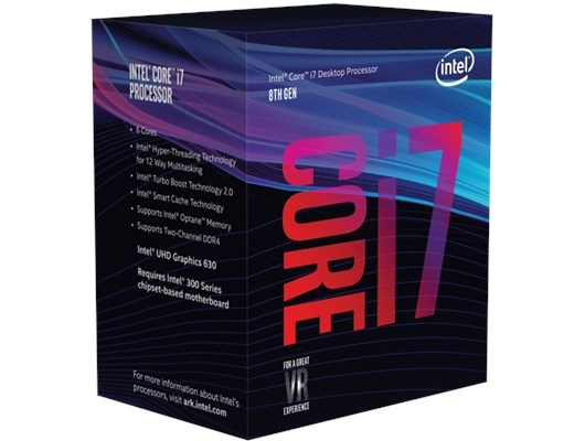 Intel Core i7 8700 3.2GHz 6 Core (Socket 1151) CPU