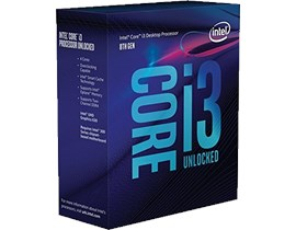 Intel Core i3 8350K 4.0GHz 4 Core CPU