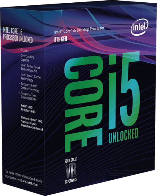 Intel Core i5 8600K 3.6GHz Hexa Core CPU