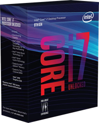 Intel Core i7-8700K 3.7GHz 6-Core, 12-Thread Unlocked HyperThreaded Processor for Socket 1151 (No Cooler) *Open Box*