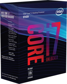 Intel Core i7 8700K 3.7GHz Hexa Core (Socket 1151)