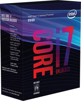 Intel Core i7 8700K 3.7GHz Hexa Core CPU