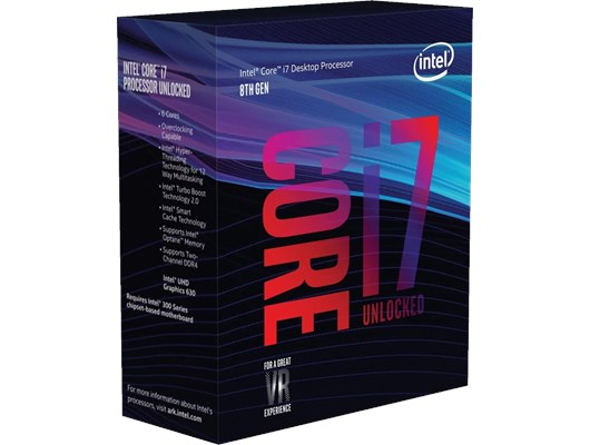 Intel Core i7 8700K 3.7GHz 6 Core CPU