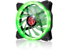 Raijintek IRIS 12 (120mm) Green LED PWM Fan
