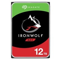 Seagate IronWolf 12TB SATA III 3.5 Hard Drive - 7200RPM, 256MB