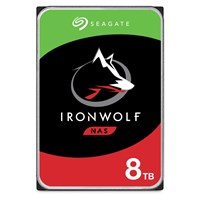 Seagate IronWolf 8TB SATA III 3.5 Hard Drive - 7200RPM, 256MB