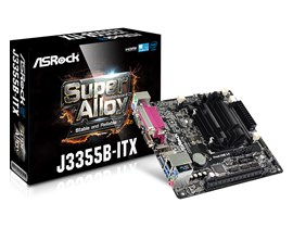 ASRock J3355B-ITX Intel Integrated CPU Motherboard