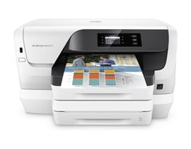 HP OfficeJet Pro 8218 (A4) Colour Inkjet Wireless Printer 256MB 2.0 inch MGD 20ppm ISO (Mono) 16ppm ISO (Colour) 30,000 (MDC)