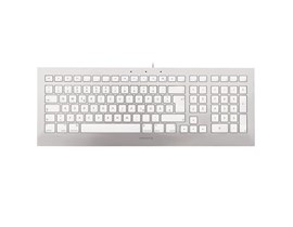 CHERRY STRAIT Black 3.0 JK-0370 Keyboard (Silver/White) - UK
