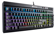 Corsair Gaming K68 RGB Mechanical Gaming Keyboard - Cherry MX Red (UK)