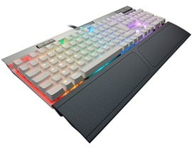 Corsair K70 RGB MK.2 SE Mechanical Gaming Keyboard (UK) with Cherry MX Speed Switches