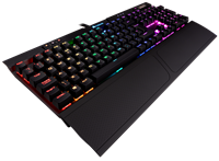 Corsair K70 RGB Mk.2 Rapidfire Mechanical Gaming Keyboard with Cherry MX Speed Switches (UK)