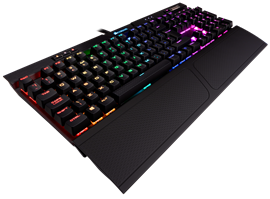 Corsair K70 RGB Mk.2 Mechanical Gaming Keyboard with Cherry MX Brown Switches (UK)