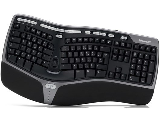 Microsoft Natural Ergonomic Keyboard 4000 (UK Layout)