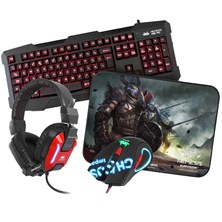 Sumvision Nemesis Kane Pro Edition Pack w/ Keyboard, Mouse, Mouse Mat & Headset