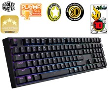 Cooler Master MasterKeys Pro L Full Size RGB USB Gaming Keyboard (Brown Switch)