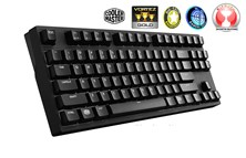 Cooler Master MasterKeys Pro S White LED Mechanical Gaming Keyboard (Black) with Cherry MX Brown Switches