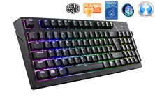 Cooler Master MasterKeys Pro M RGB Mechanical Gaming Keyboard with Cherry MX Brown Switches (UK)