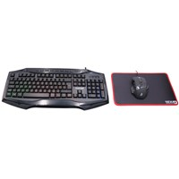 1st Player Gaming Keyboard / Mouse / Mouse Pad Set Backlit